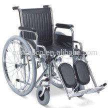 Steel manual reabilitação cadeira de rodas para venda W001