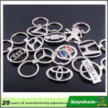 Fábrica venta directa coche Metal Logo llavero