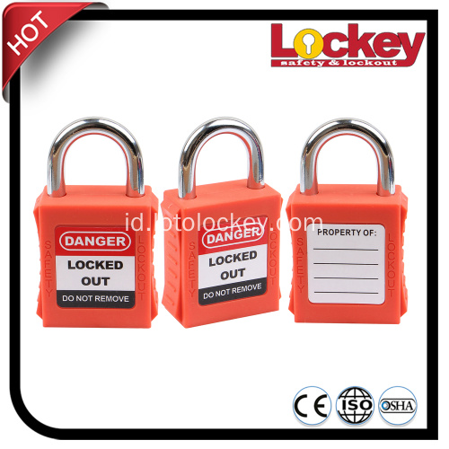 Industrial 25mm Short Shackle Safety Lockout Gembok