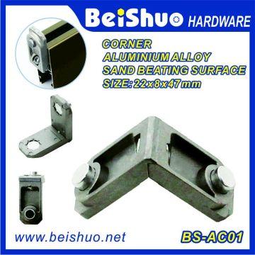 90 grados ángulo de aluminio de aleación de esquina soporte