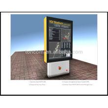 Бесплатный стенд рекламируя светлую коробку