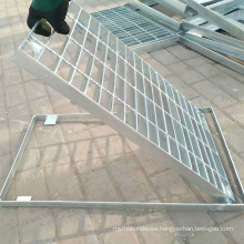 Sealed Pickproof Channel Drain Cover, Steel Bar Trench Grate Cover for Walkway