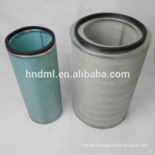 FLEETGUARD Baumaschinen-Luftfilterpatrone AF25276, AF25277, Filterelement Boiler-Schmiersystem