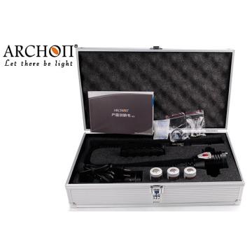 Archon torche de plongée avec batterie 26650Li-ion * 3 + chargeur * 1