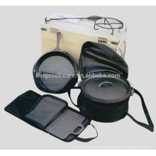 Hot-selling pre-seasoned cast iron camping dutch oven