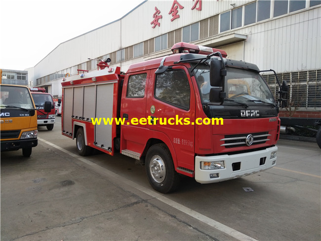 Dongfeng Fire Water Trucks