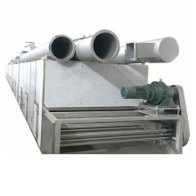 High Efficiency Energy Saving Continuous Hot Air De - watering Hemp Flower Mesh Belt Dryer