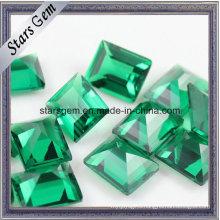 Wuzhou Synthetic Emerald Green Nano Loose Stone