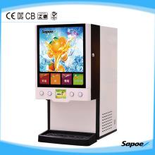 Automatique 4 distributeur de jus de boissons chaudes et froides Sj-71404L