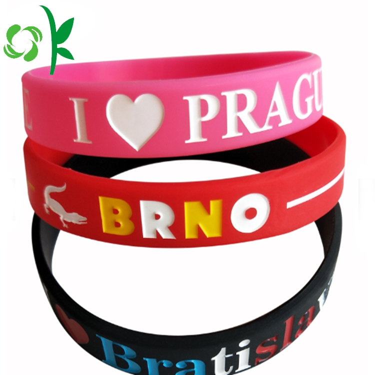 Silicone Engraved Wristbands