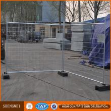 Paneles de valla de malla temporal del sitio de construcción soldada