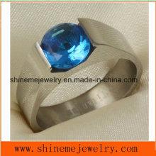 Shineme Schmuck Mode Wire Cut Titanium Ring Schmuck (TR1837)