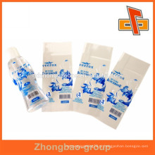 Garrafas de bebidas de plástico encolher manga com design de impressão personalizado