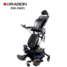 China Lieferant 350W Invacare VR2 Controller Einstellbare Aluminium Elektro-Power Ständigen Rollstuhl