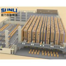 Sistema de almacenamiento automatizado de almacenamiento de alta densidad