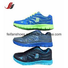 Sapatas ocasionais do esporte da Alto-Qualidade superior com os tênis de corrida personalizados, ao ar livre dos homens, sapatilhas de pouco peso para meninos