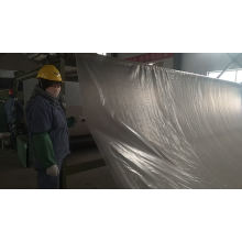 Chinese  manufacturer two layers pet geotextile composited with one layer hdpe geomembrane  for Road engineering