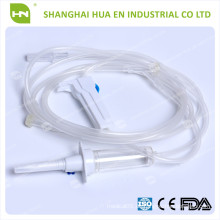 Hochwertiges Einweg-PVC-Infusionsset aus China