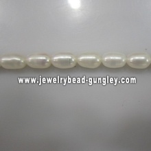 For sale rice shape fashion freshwater pearls