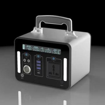 Портативный литий-ионный аккумулятор мощностью 500 Вт