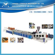 PVC / PE / PP de madera línea de producción de plástico (SJSZ)