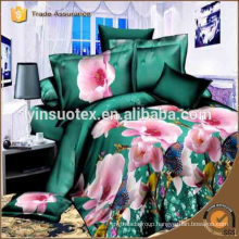 Pure Color Linen Star HOME Use POLYESTER Luxury HOME Collection Bedding Sets