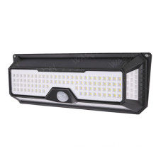 136 LED Solar Outdoor Security Wall Sensor Light