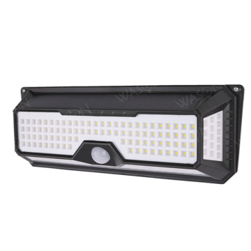 136 LED Solar Outdoor Sicherheitswand Sensor Licht