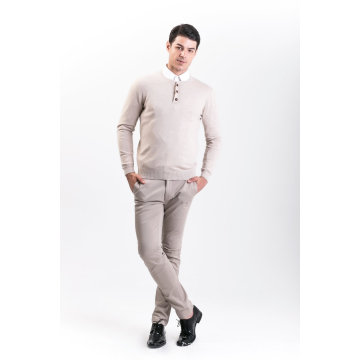 Мужская мода кашемир смесь свитер 18brawm010