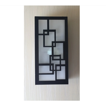 Applique murale de forme rectangulaire
