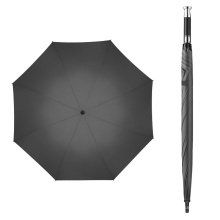 Straight Big Large Sport Golf Umbrella Double Canopy, Rolls Royce Umbrella with Silver Metal Handle