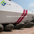 ship airbag boat airbag/rubber floating pontoon exported to Batam Indonesia
