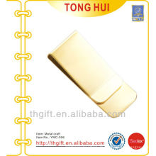 Gold Blank Logo Metall Geldklammern Qualität