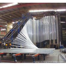 Perfil de aluminio de la cerca de aluminio de la extrusión del marco