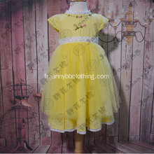 JannyBB conception magnifique tulle robe de princesse toddler