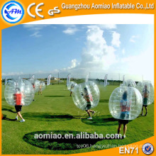 1.0mm TPU bubble soccer, bubble balls pour le football for aduts