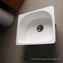 The newly designed acrylic irregular kitchen single bowl unique sinks