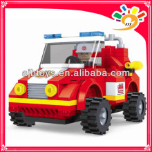 133 pieces blocks toy truck blocks fire fighting truck toy