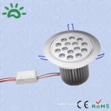 Productos de alta calidad dc12v 24v ac 100v llevó techo downlight 15w