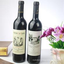 Glass Wine Bottle, 750ml Wine Bottle, Empty Glass Wine Bottle