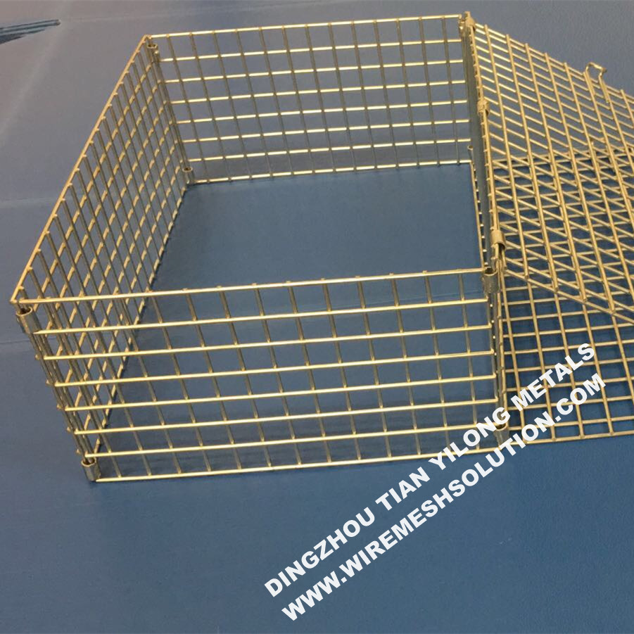 Welded Panel Cage