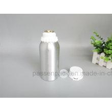 Botella de aceite de oliva de aluminio con tapa de prueba de manipulación de plástico (PPC-AEOB-004)