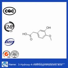 CAS 1131-94-8 Chine Poudre chimique 99% Acide 3-hydroxy-4-méthoxyphénylacétique
