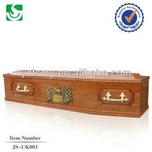 artisanat haut qulity style européen bois exporté cercueil