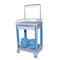 Hospital nurse station medical infusion cart medical trolley price