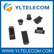 Interfaces do conector de fibra ajustável para empurrar a gaveta do painel de remendo