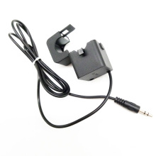 Clamp-on Input 15A Output 5VDC Split Core Current Transducer With Audio 3.5mm Jack Connector