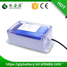 Alta calidad 24 v 36 v 48 v 100ah ciclo profundo mejores baterías solares 12 v luz de calle solar batería de litio