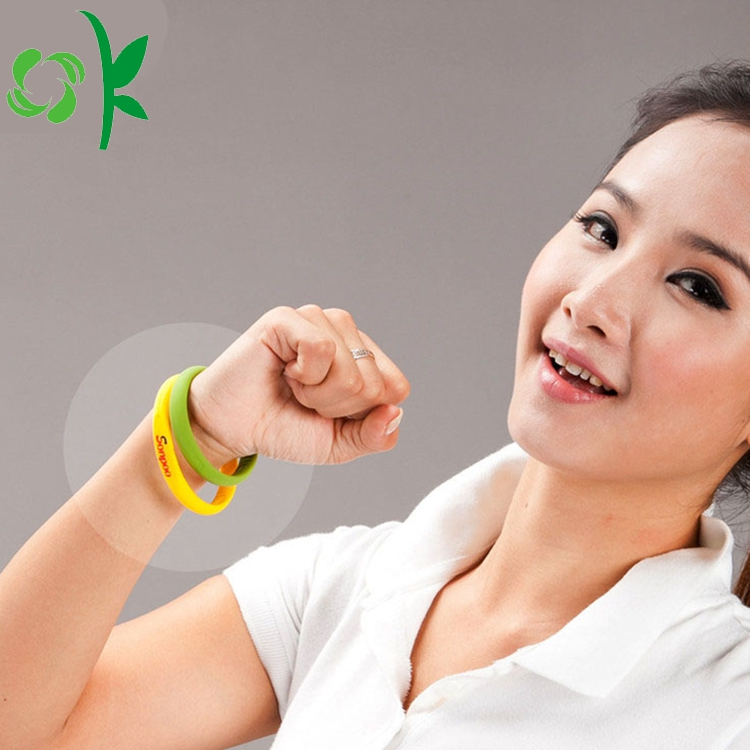 Healing Charm Silicone Elastic Bracelets