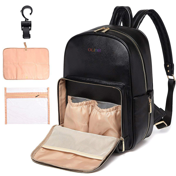 Leather Diaper Bag 7
